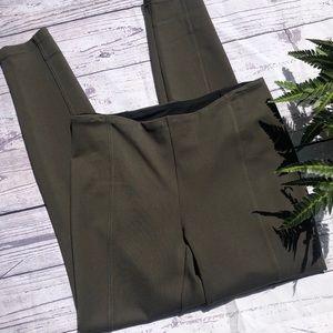 Rachel Zoe stretch olive pant
